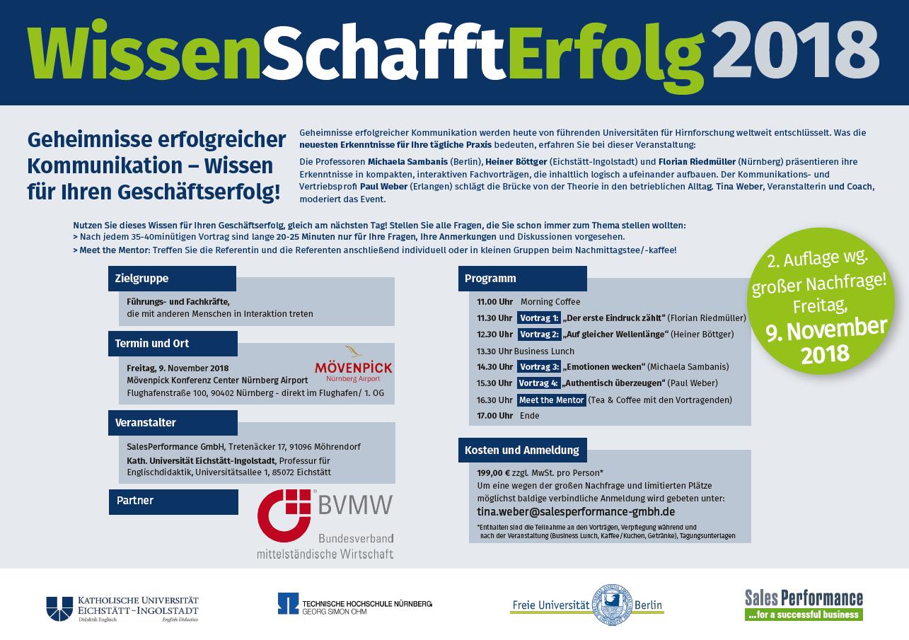 WissenSchafftErfolg 2018 - BVMW